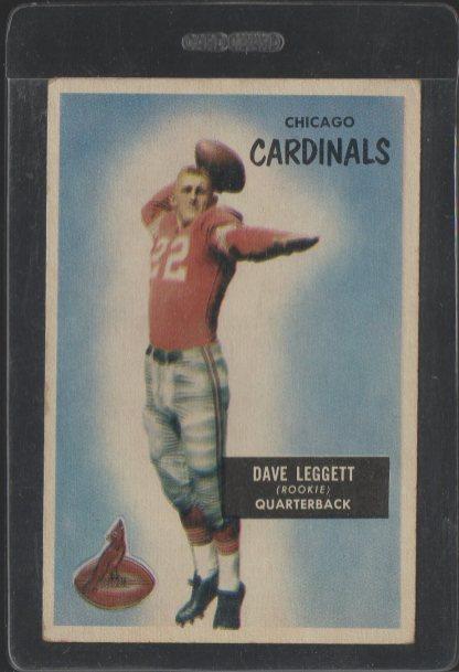 1955 Bowman #31 Dave Leggett