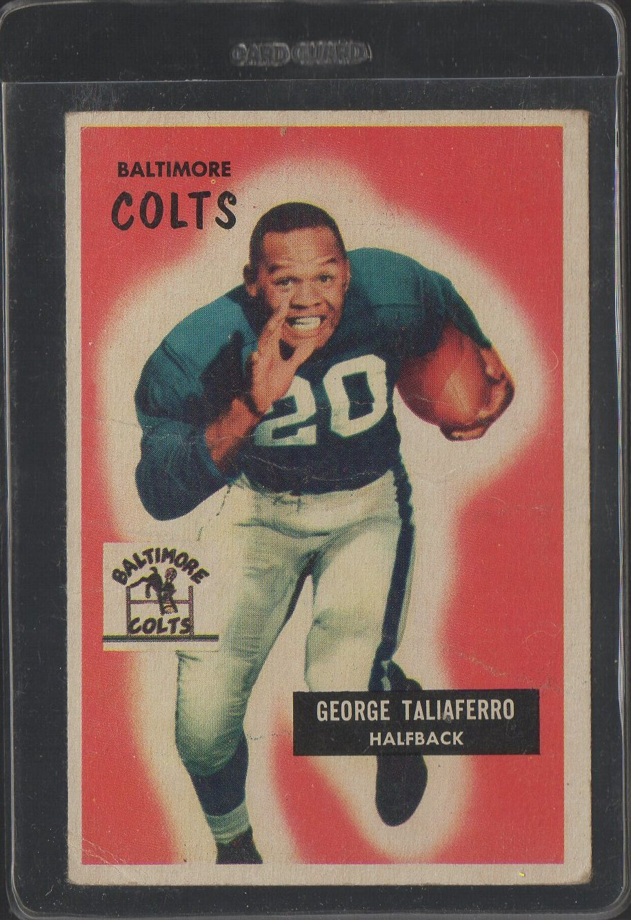 1955 Bowman #97 George Taliaferro