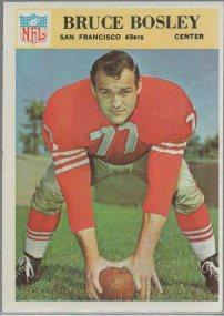 1966 Philadelphia #172 Bruce Bosley