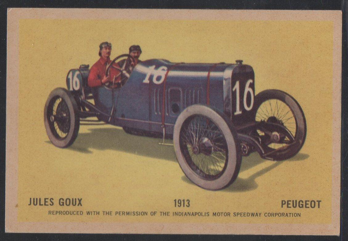1960 Hawes Wax Indy #3 Jules Goux