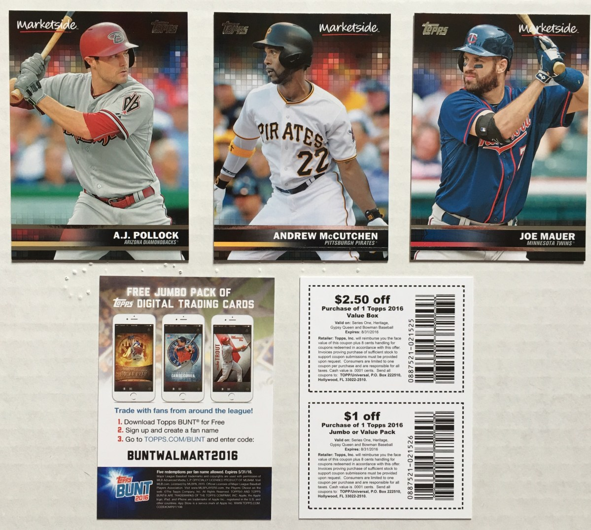 (Pizza) Box Break: 2016 Topps Walmart Marketside