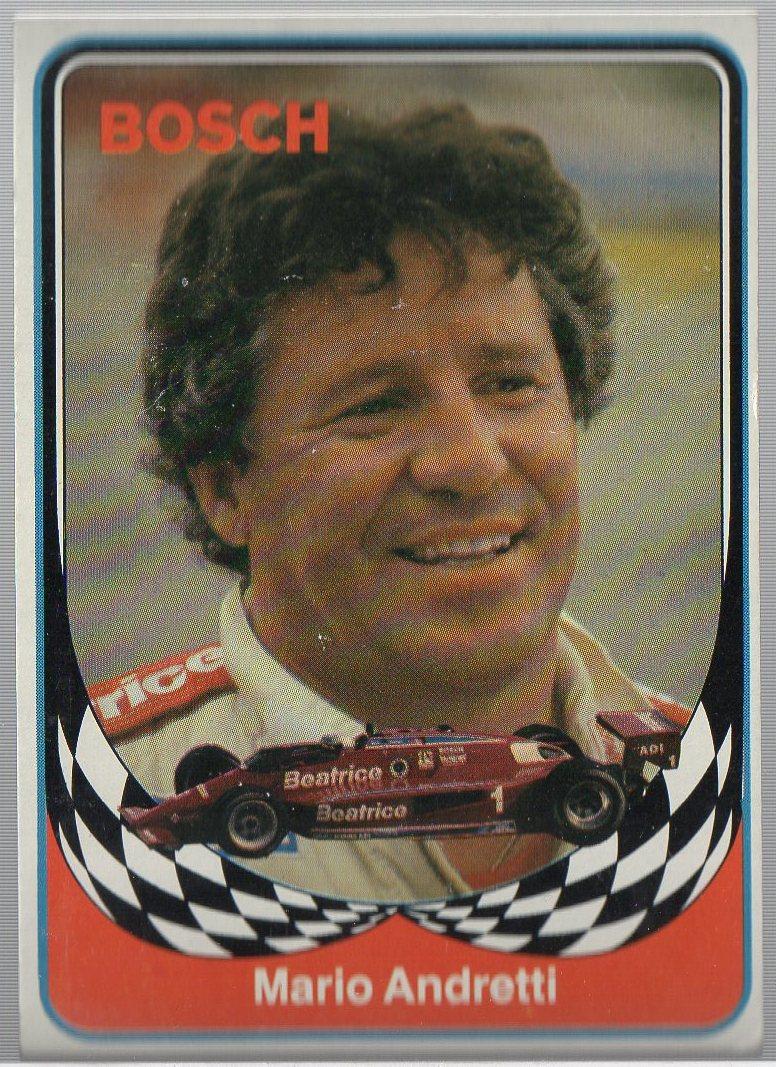 1986 BOSCH INDY #1 MARIO ANDRETTI