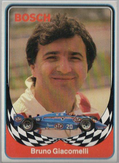 1986 BOSCH INDY #3 BRUNO GIACOMELLI