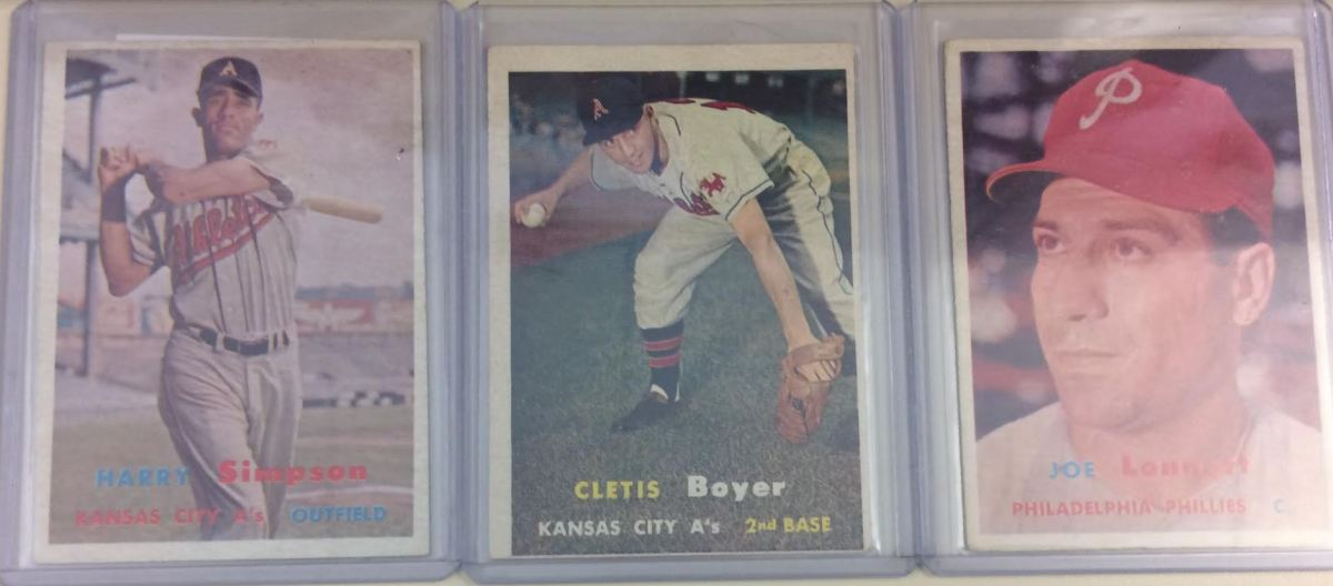 1957 Topps Baseball Set Break from BurlsSports.com