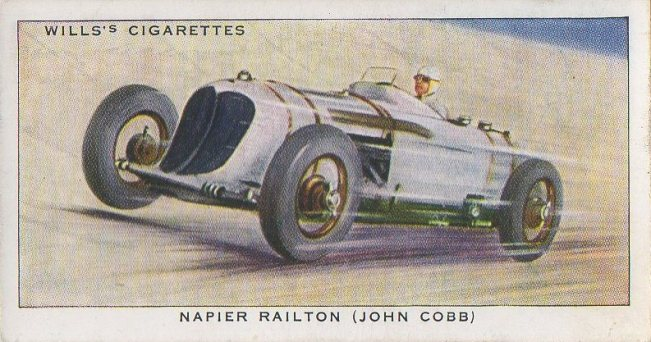 1938 Wills' Cigarettes #19 John Cobb