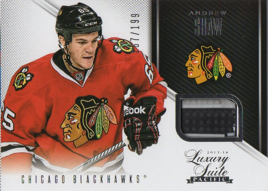 2013-14 Rookie Anthology Luxury Suite #50 Andrew Shaw /199