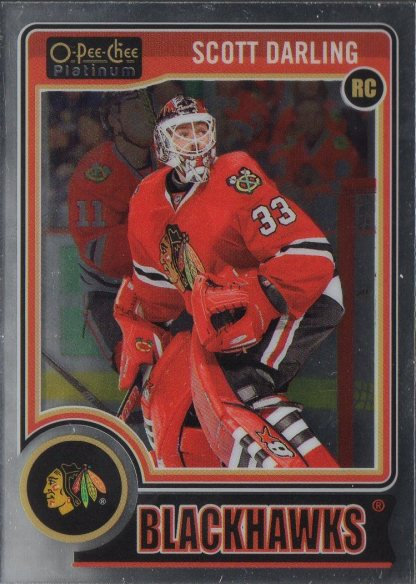 2014-15 O-Pee-Chee Platinum #151 Scott Darling