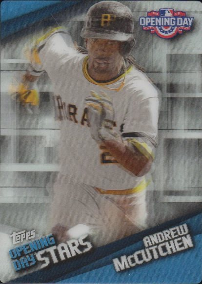 2015 Topps Opening Day Stars #ODS03 Andrew McCutchen