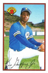 1989 Bowman Ken Griffey Jr. (value $3-6)
