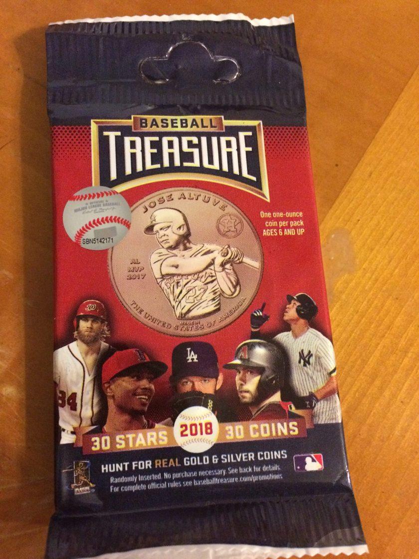 2018 Baseball Treasure Pack
