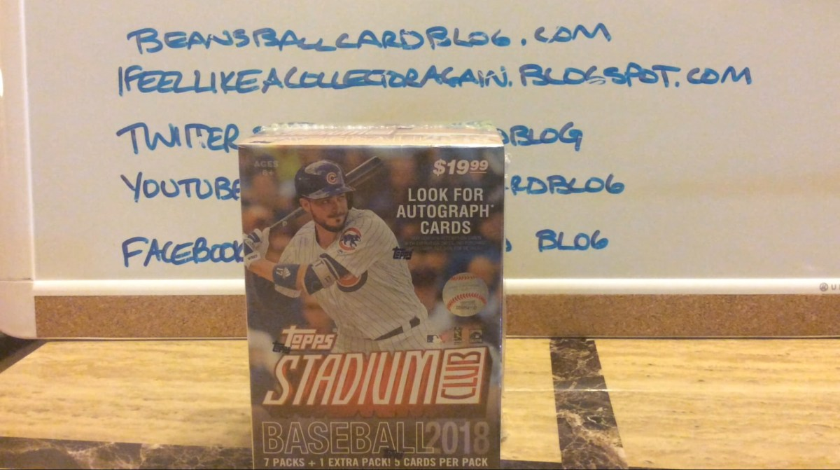 Pack Busting: 2018 Stadium Club Blaster #3
