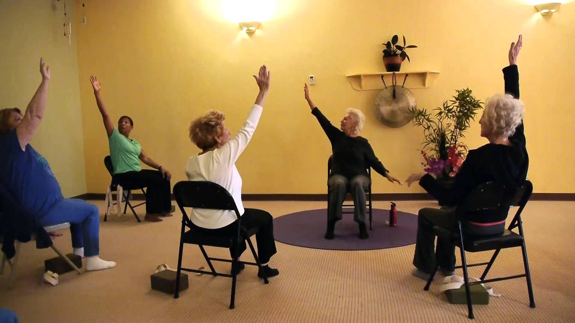 chair yoga for seniors kmart desk toni sheads
