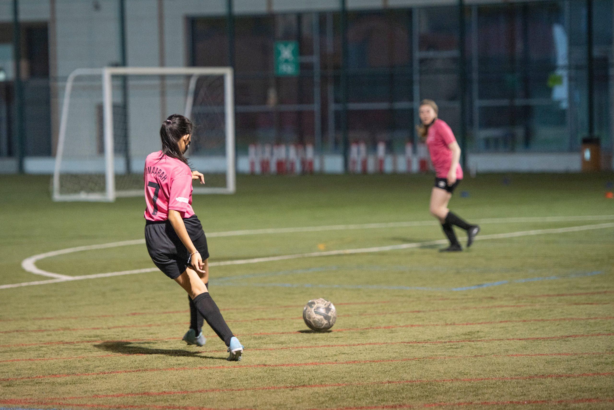 My experience doing Girls Football