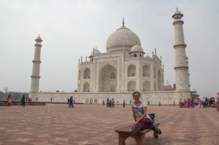 The marble used to build the Taj came from Rajasthan.