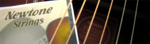 Newtone strings w/ Yamaha F730S