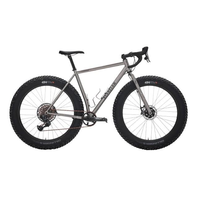 titanium drop-bar fat bike towmak