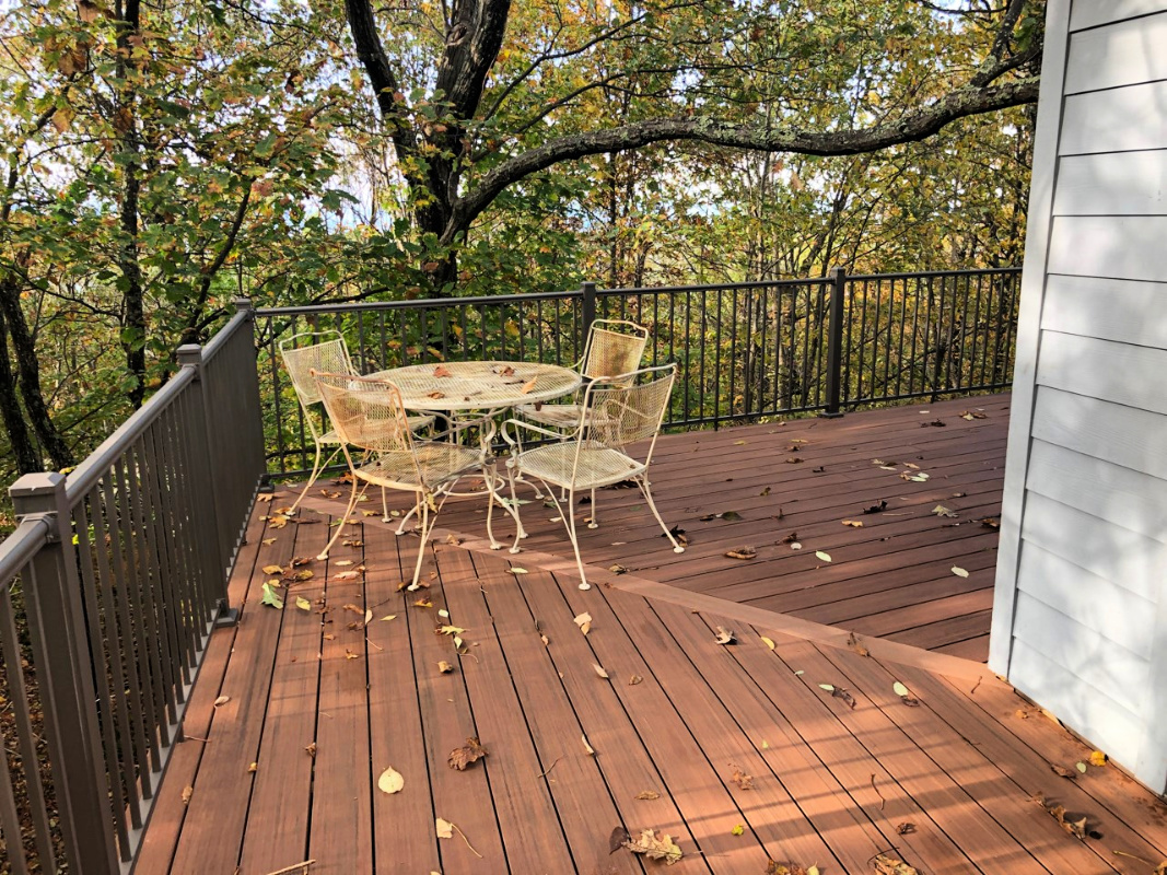 Deck and Railing Renovation - Custom Projects