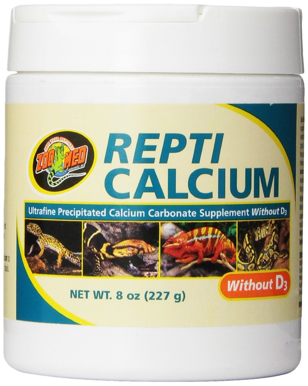 Zoo Med Reptile Calcium without Vitamin D3