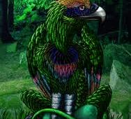 A Magestic Bird Creature