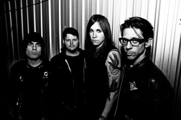 Against Me! Band Photo 2014