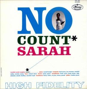 Sarah vaughan No Count Sarah