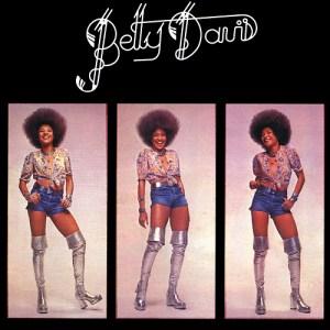 Thrift Store Record Betty Davis Self Titled