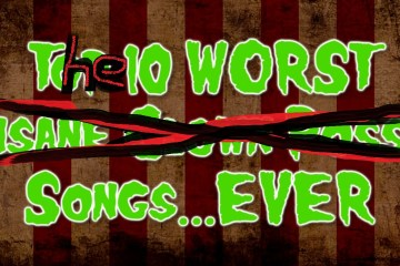The Ten Worst Songs Ever List