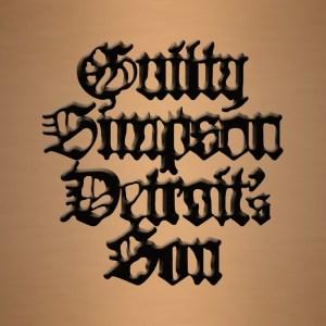 Guilty Simpson Detroit's Son Cover Art