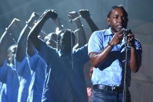 Kendrick Grammys Performance