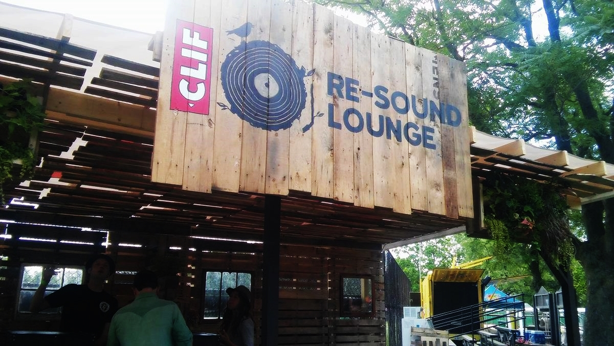 The Re-Sound Lounge at the Pitchfork Music Festival, July 2016