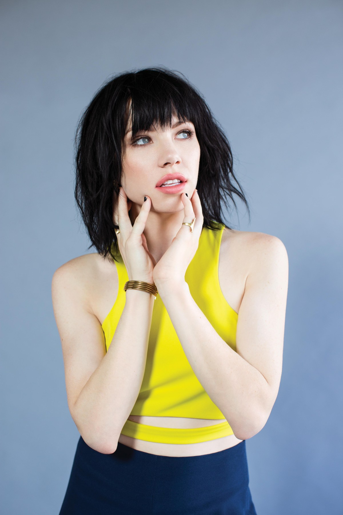 Carly Rae Jepsen Yellow Tank Top