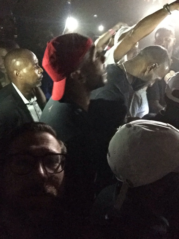 Lebron James and Kanye West Show