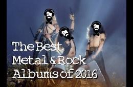 2016 Best Metal and Rock Albums