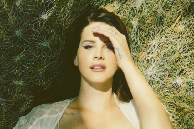 Lana Del Rey Laying Down