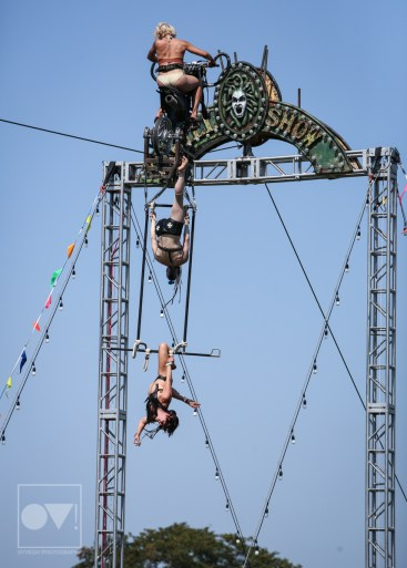 Riot Fest Steam Punk Acrobats