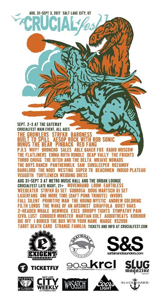 Crucial Fest 7 2017 Lineup