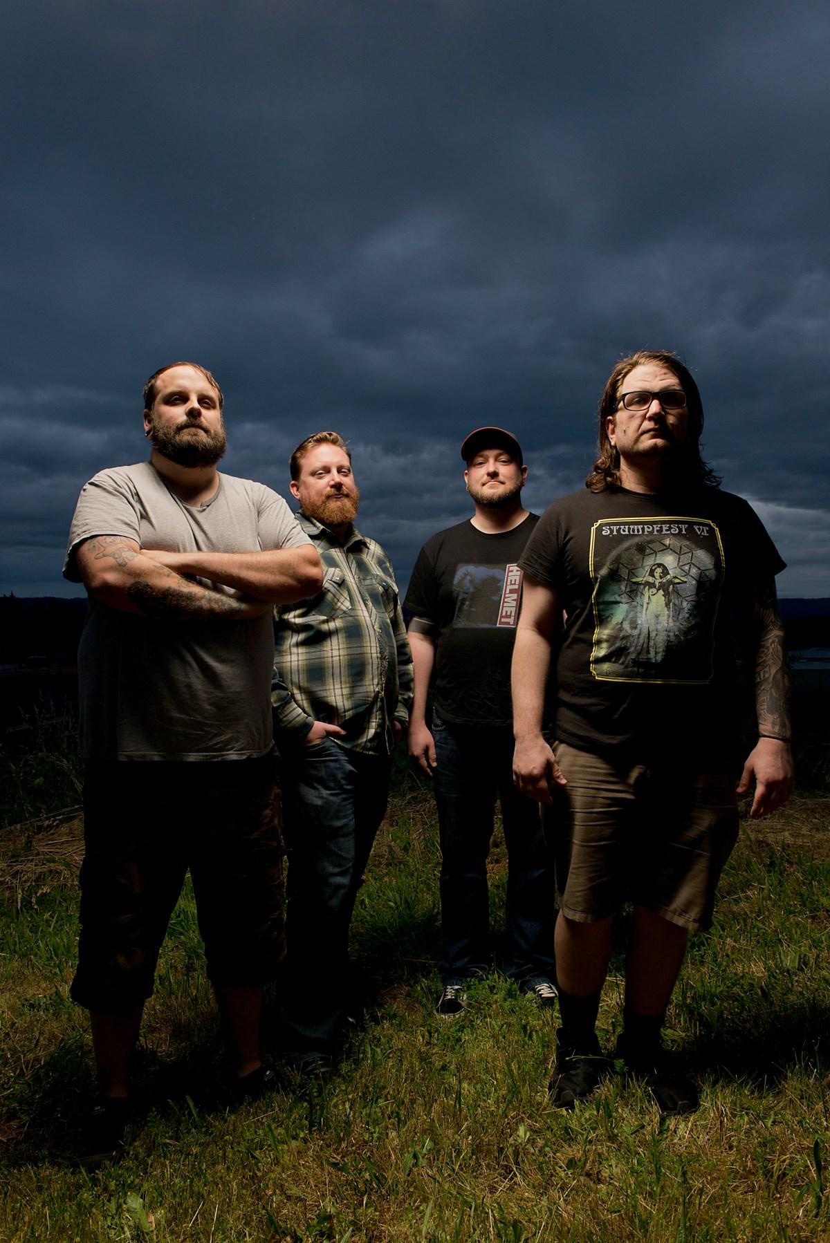 Mark Bassett, Jayson Smith, Travis Wisner, David, are Maximum Mad Noise Rock