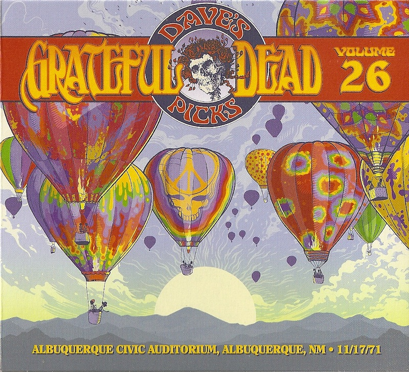Grateful Dead - Dave's Picks Vol. 26 (Rhino/Grateful Dead, 2018)