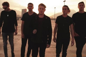 Promo shot of Deaf Havana 2018