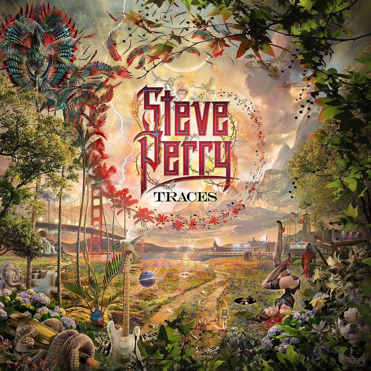 Steve Perry Traces Album Cover Meaning
