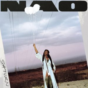 cover art for nao's album SATURN