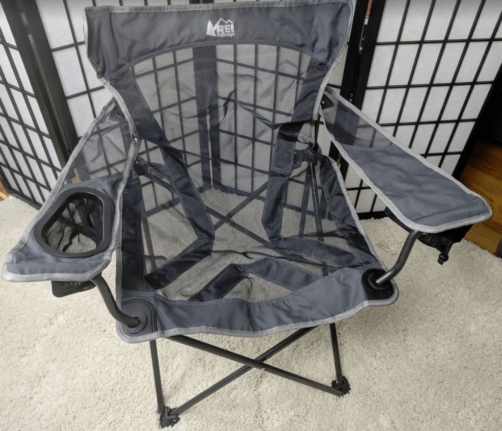 rei camp x chair sequin covers uk review bearded goat gear