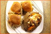 Cranberry BBQ Turkey Sliders