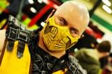 Mortal Kombat's Scorpion cosplay