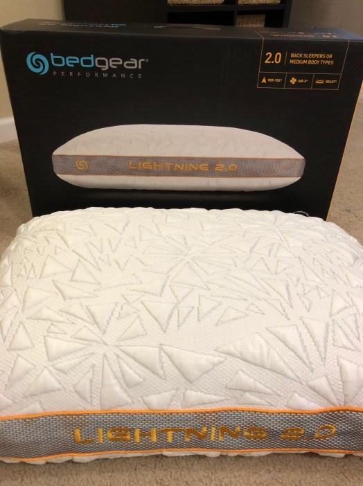 bedgear pillow lightning 2 0 review