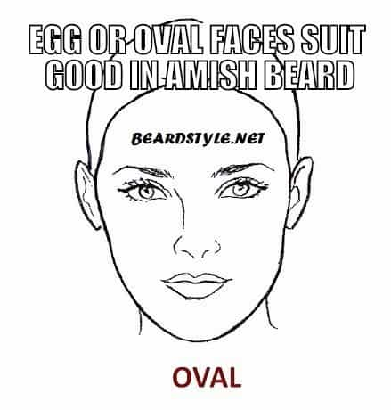 egg or oval faces suit amish beard