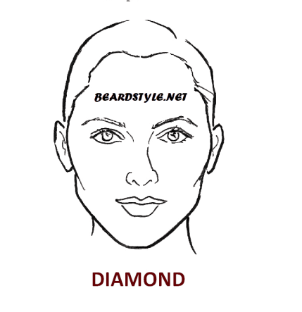 diamond face shape good for goatee