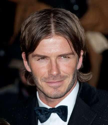 david beckhams short beard