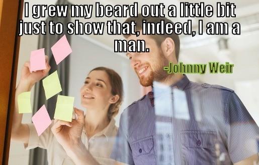 celebrity beard quotes