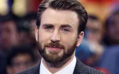 chris evans beard styles